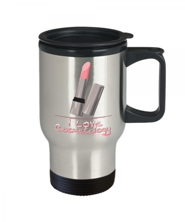 I Love Cosmetology – Travel Mug